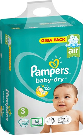 Pampers Premium Protection S3 5-9kg 2x50-p VP