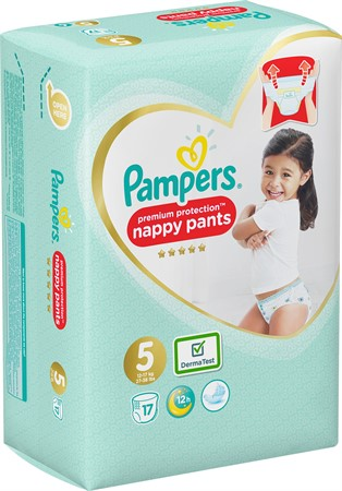 Pampers Premium Protection Pants S5 12-17kg 4x17-p CP