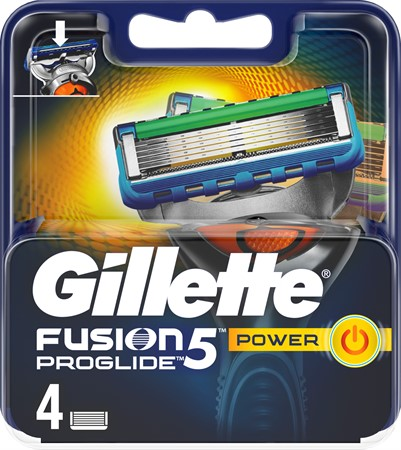 Gillette Blades Male ProGlide Power 10x4-p