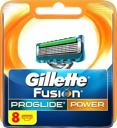 Gillette Blades Male ProGlide Power 10x8-p