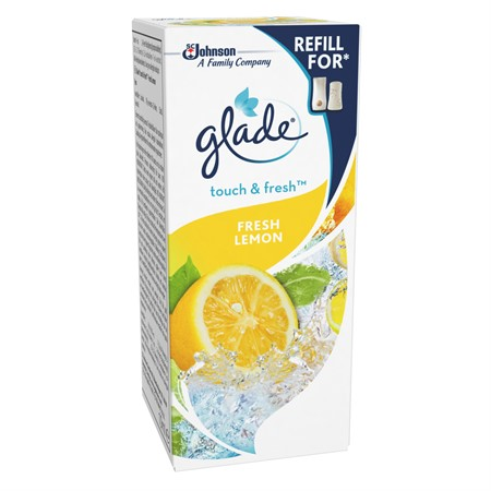 Glade Touch&Fresh FreshLemon Refill 12x10ml