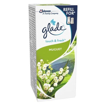 Glade Touch&Fresh Muguet Refill 12x10ml