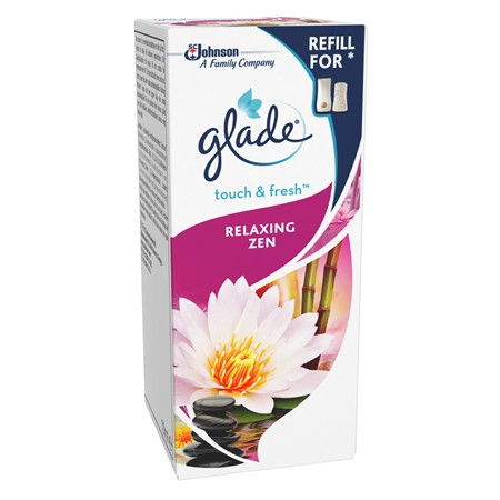 Glade Touch&Fresh Relaxing Zen Refill 12x10ml