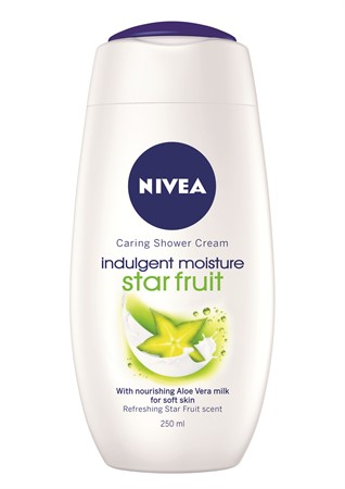 Nivea Shower Indulging Moisture Star Fruit 6x250ml