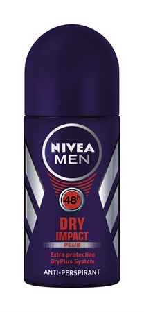Nivea Men Deo Dry Impact Roll on 6x50ml