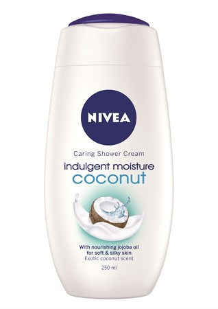 Nivea Shower Indulging Moisture Coconut 6x250ml