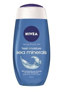 Nivea Shower Fresh Moisture Sea Minerals 6x250ml