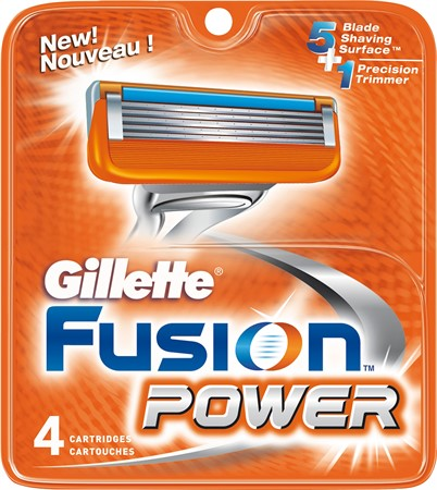 Gillette Blades Male Fusion5 Power 10x4-p