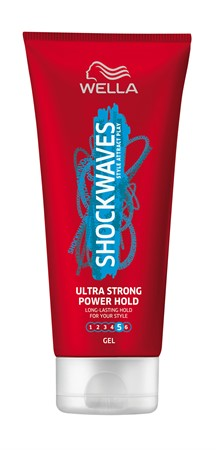 Shock Waves Ultra Strong Power Hold Gel 6x200ml
