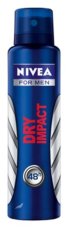 Nivea Men Deo Dry Impact Spray 6x150ml
